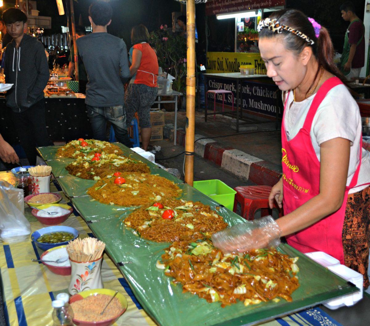 Chiang Mai Sunday Market Walking Street