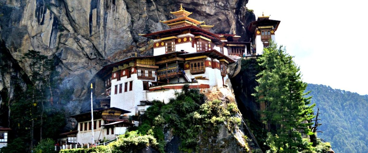 The Tiger's Nest in Paro Bhutan by Solo Globetrotter