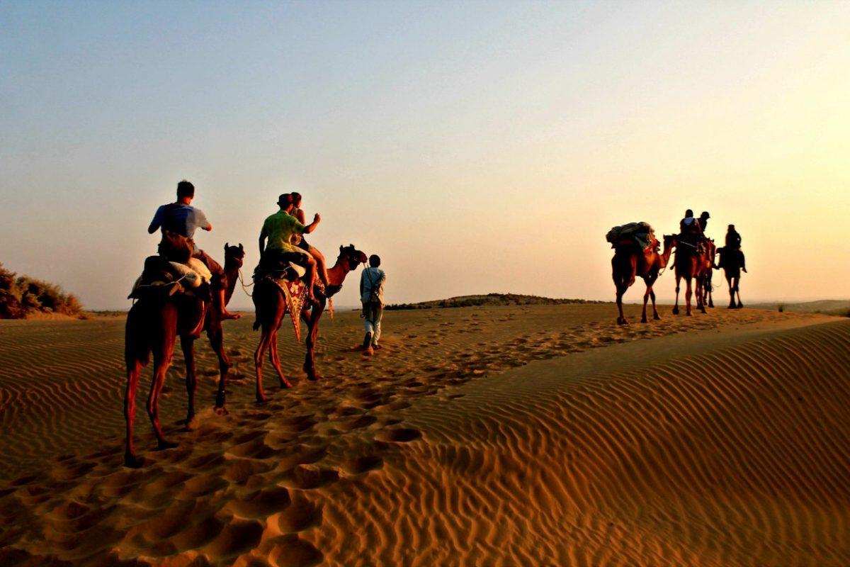 Camping in Thar desert