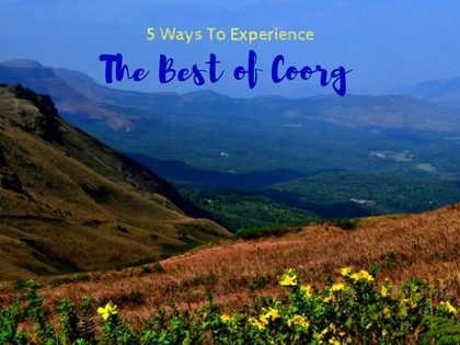 the best of coorg