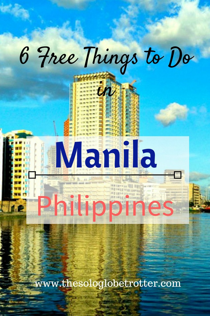 free things to do in manila