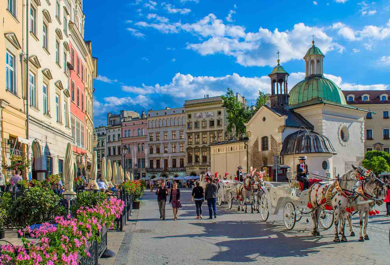 free things to do in Krakow