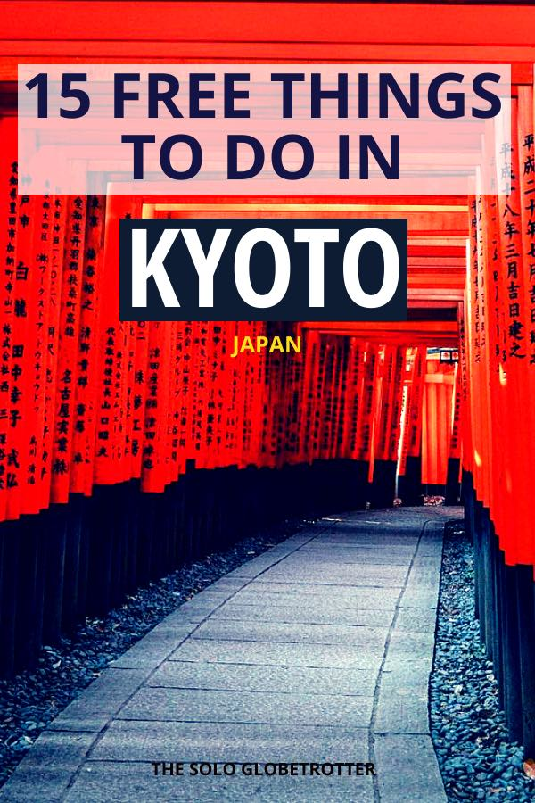 kyoto Japan things to do