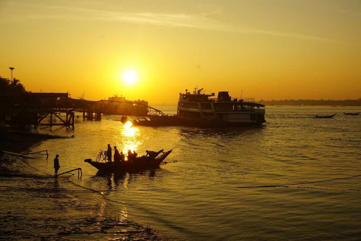 Mandalay by boat