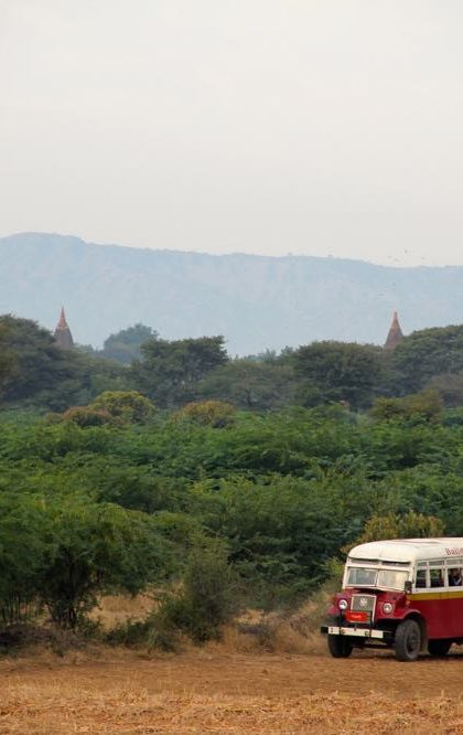Yangon to Bagan by Bus