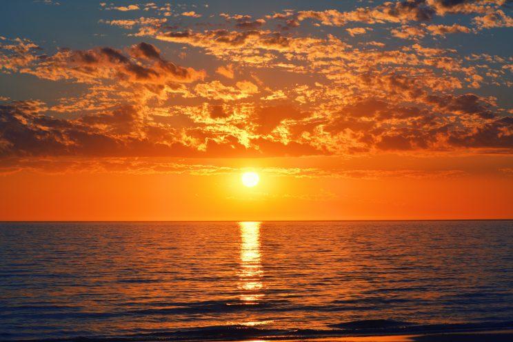 sunset captions