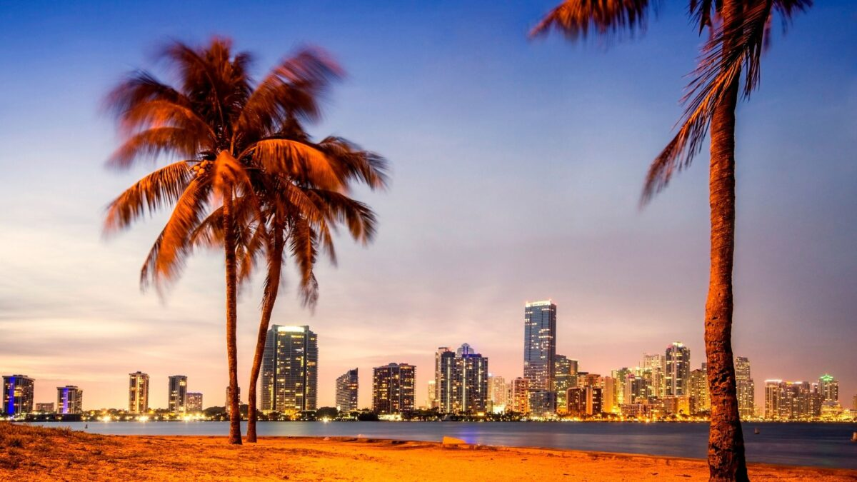 pictures of beaches in Miami Florida