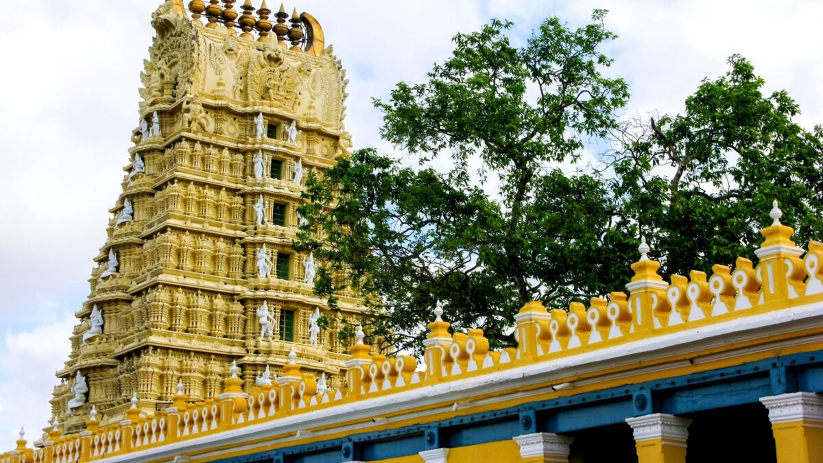 Chamundi hills in Mysore