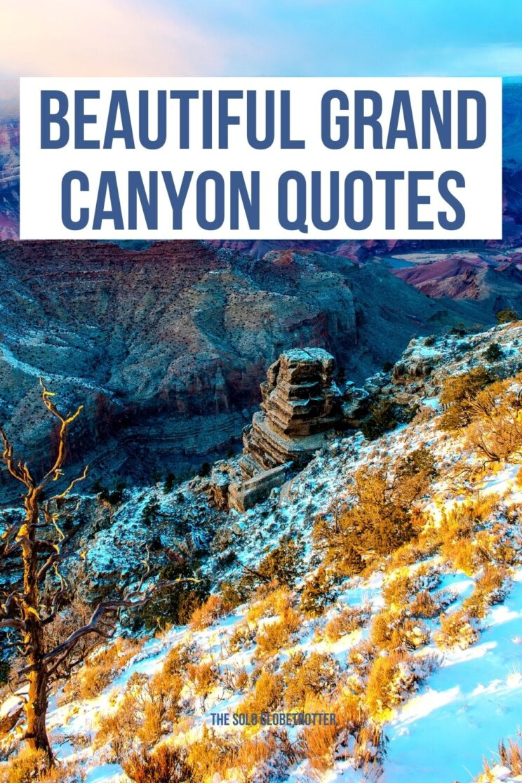 grand canyon quotes for Instagram