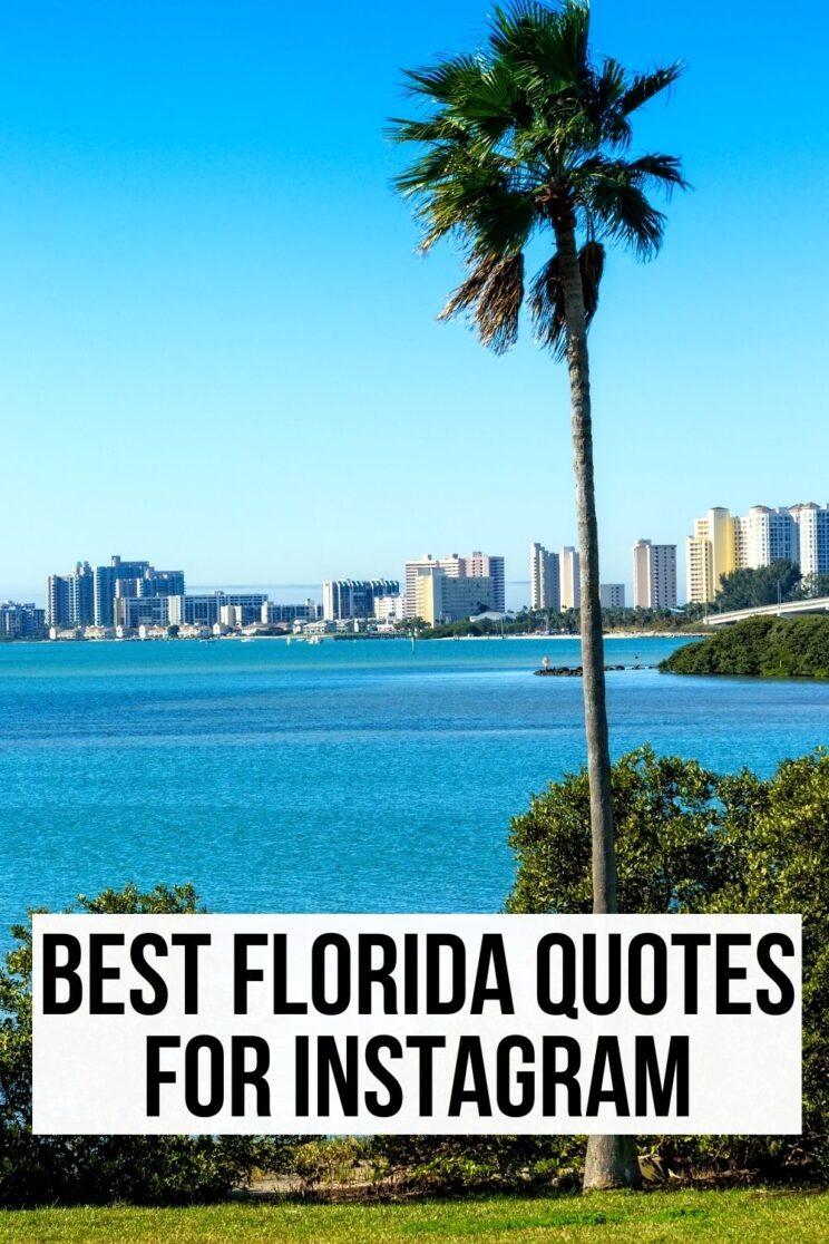best florida quotes for Instagram