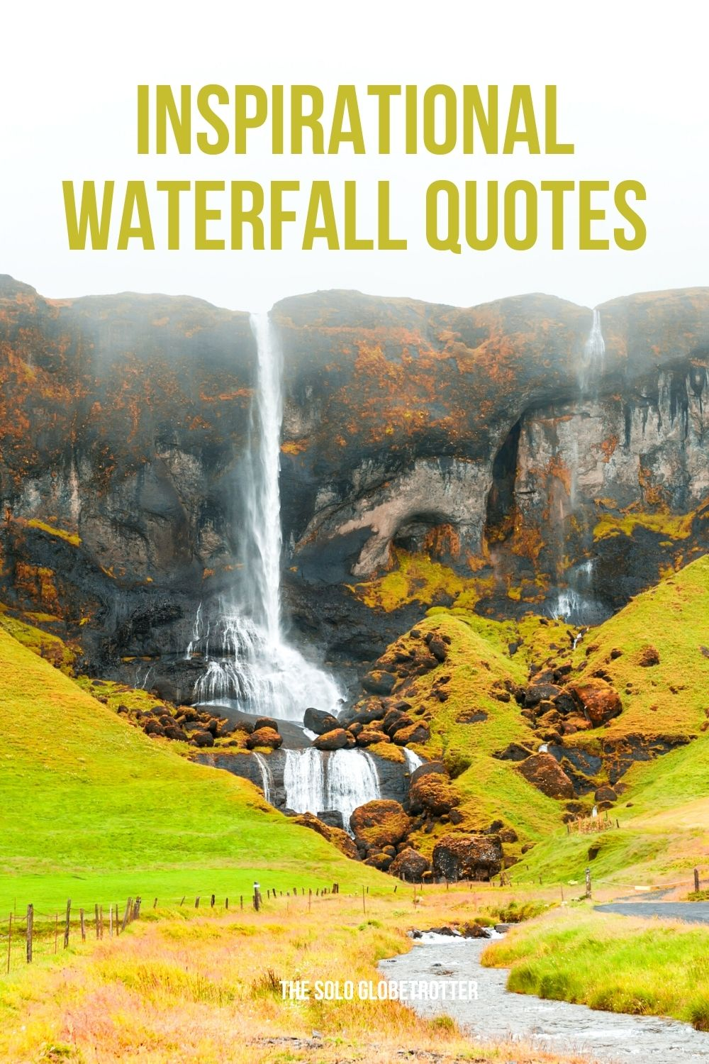 Best waterfall quotes and captions